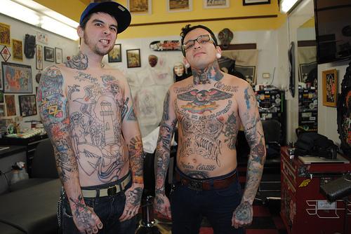 Caras tatuados (10)