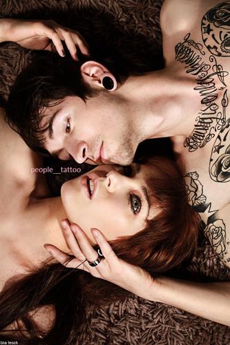 Casais tatuados para o Valentine's Day (49)