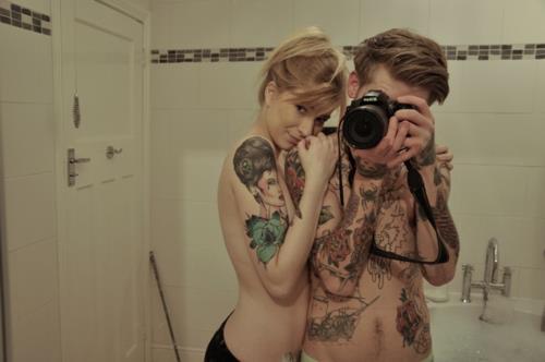 Casais tatuados para o Valentine's Day (42)