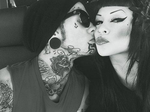 Casais tatuados para o Valentine's Day (40)