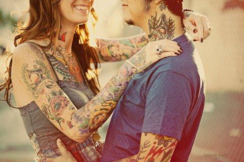 Casais tatuados para o Valentine's Day (9)