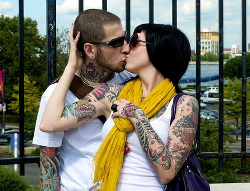 Casais tatuados para o Valentine's Day (2)