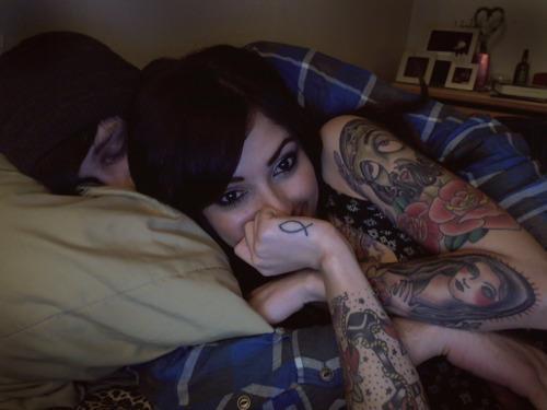 Casais tatuados para o Valentine's Day (4)