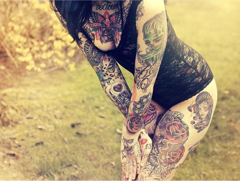 Lindas Garotas Tatuadas (25)