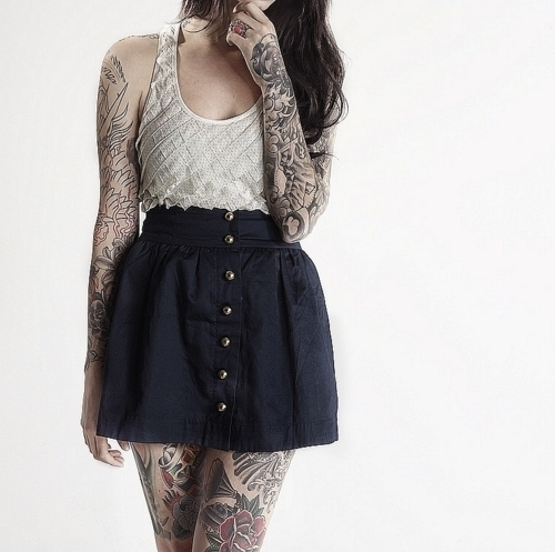 Lindas Garotas Tatuadas (30)
