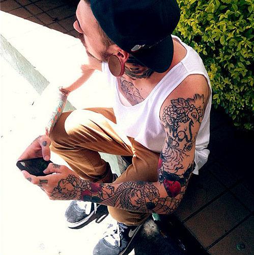 Fotos de homens tatuados (8)