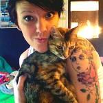 Pessoas modificadas com seus gatinhos de estimação (51 Imagens)