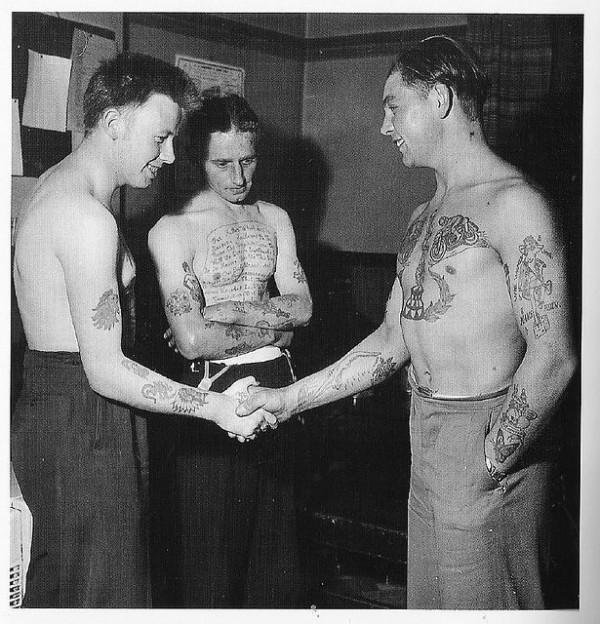 Tatuados do Passado em fotos antigas (68)