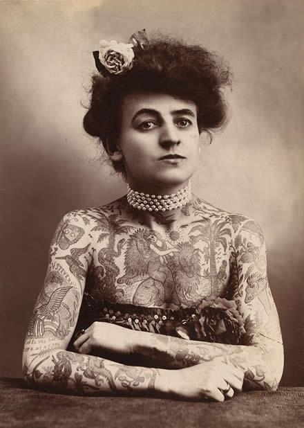 Tatuados do Passado em fotos antigas (67)