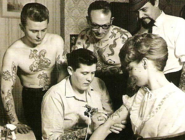 Tatuados do Passado em fotos antigas (66)