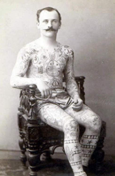 Tatuados do Passado em fotos antigas (65)