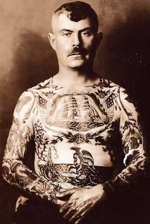Tatuados do Passado em fotos antigas (64)