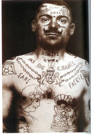 Tatuados do Passado em fotos antigas (61)