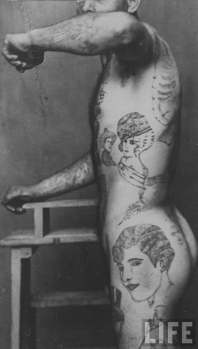 Tatuados do Passado em fotos antigas (59)