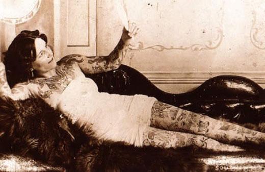 Tatuados do Passado em fotos antigas (52)