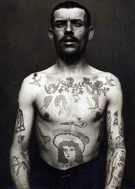 Tatuados do Passado em fotos antigas (51)