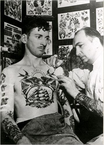 Tatuados do Passado em fotos antigas (50)
