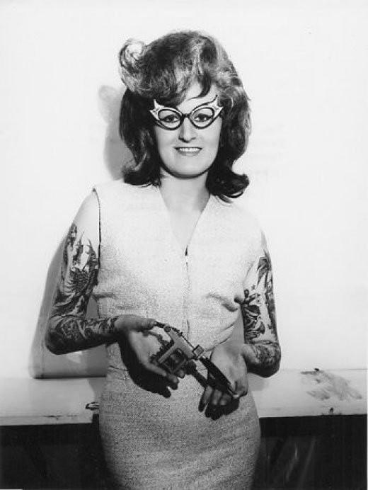 Tatuados do Passado em fotos antigas (45)