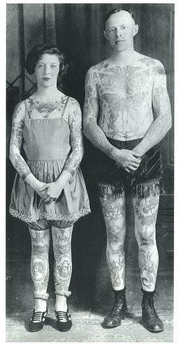 Tatuados do Passado em fotos antigas (43)
