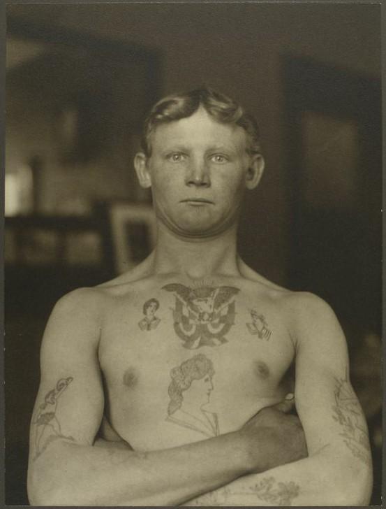 Tatuados do Passado em fotos antigas (40)