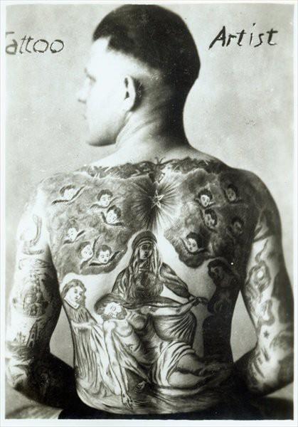 Tatuados do Passado em fotos antigas (39)