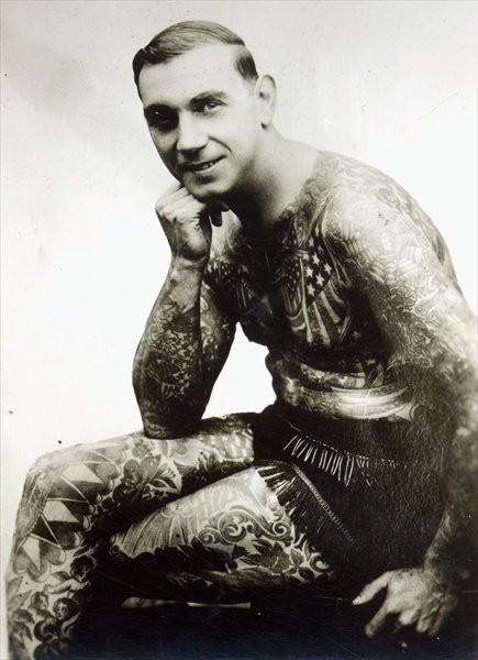 Tatuados do Passado em fotos antigas (38)