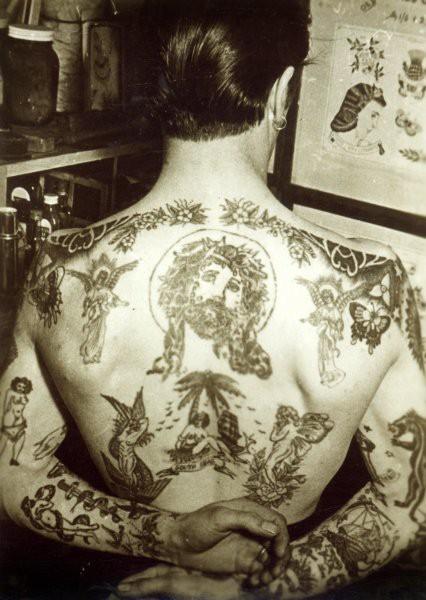 Tatuados do Passado em fotos antigas (37)
