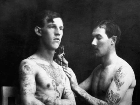 Tatuados do Passado em fotos antigas (35)
