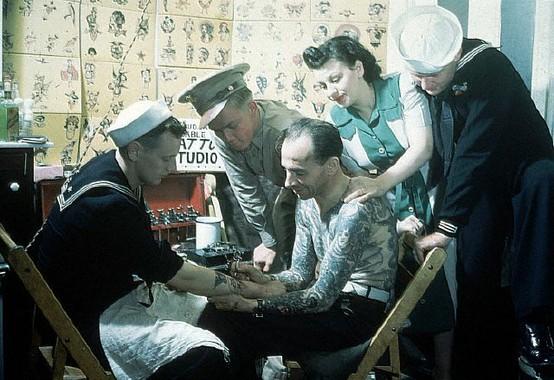 Tatuados do Passado em fotos antigas (33)