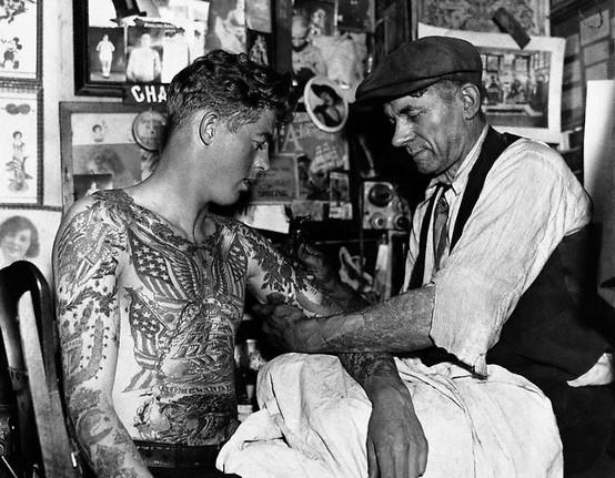 Tatuados do Passado em fotos antigas (32)