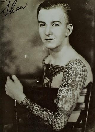 Tatuados do Passado em fotos antigas (30)