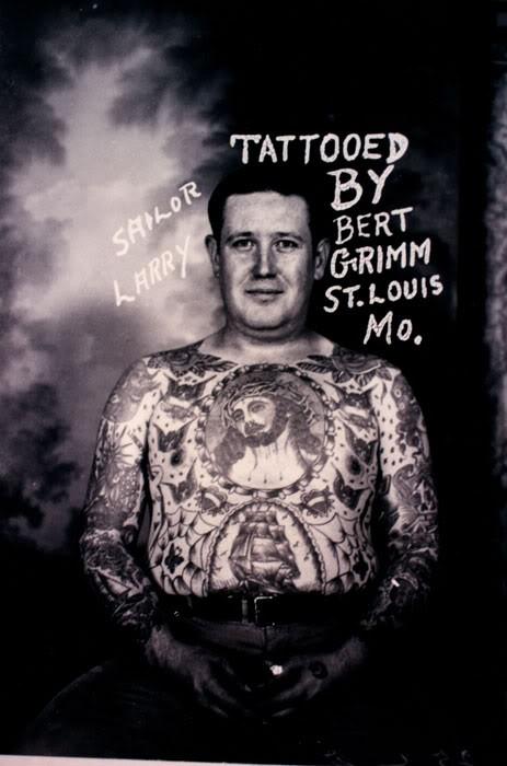 Tatuados do Passado em fotos antigas (27)