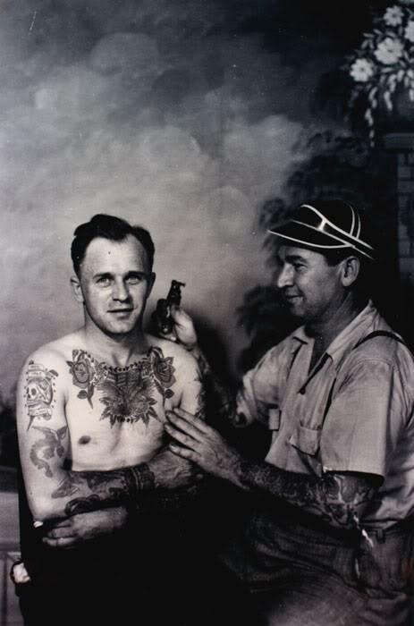 Tatuados do Passado em fotos antigas (26)