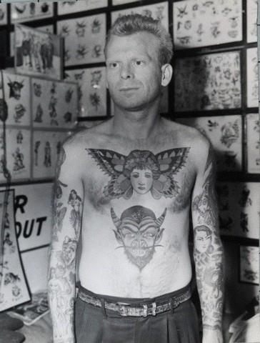 Tatuados do Passado em fotos antigas (25)