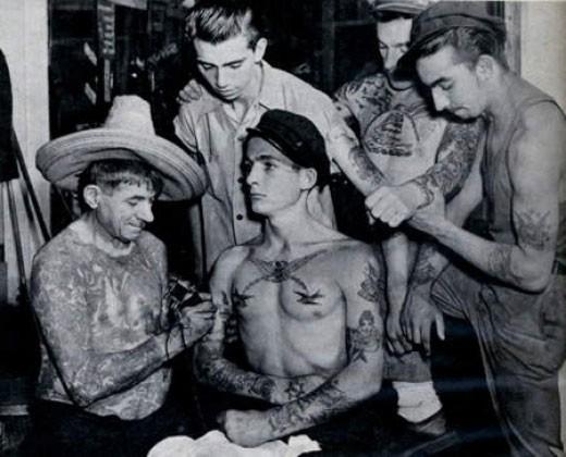 Tatuados do Passado em fotos antigas (23)