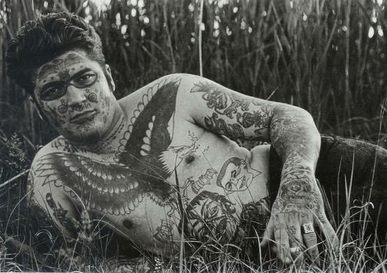 Tatuados do Passado em fotos antigas (19)