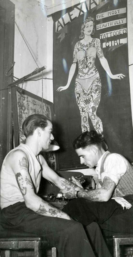 Tatuados do Passado em fotos antigas (15)