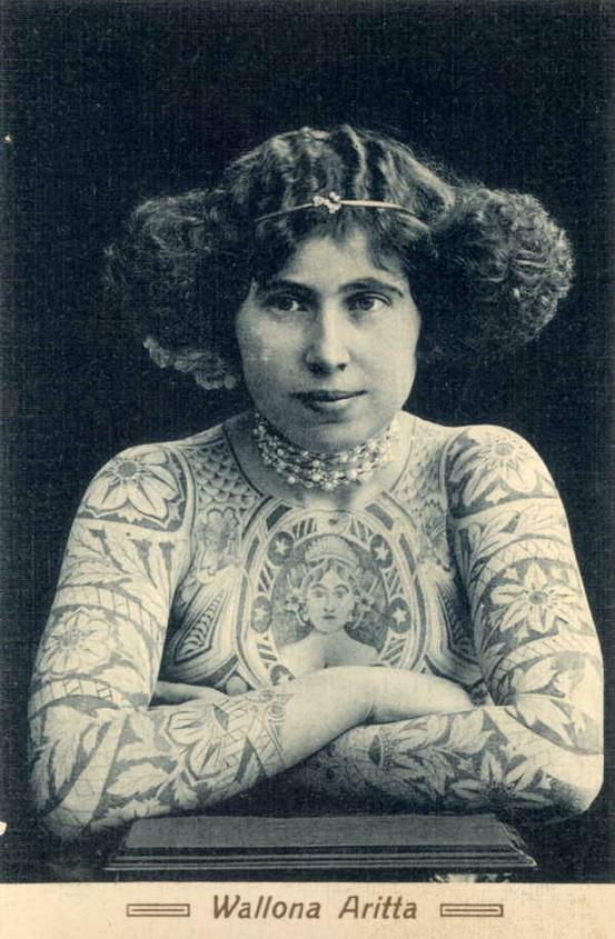 Tatuados do Passado em fotos antigas (14)