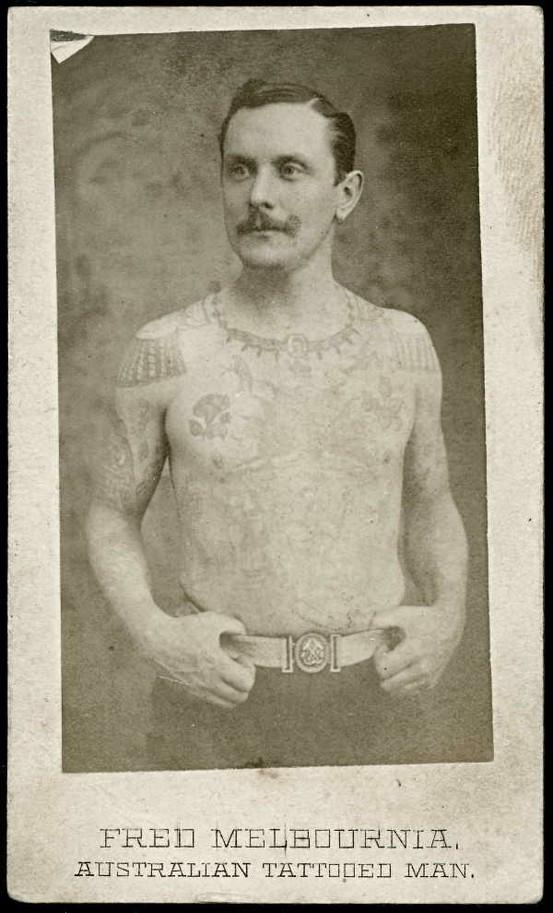 Tatuados do Passado em fotos antigas (13)