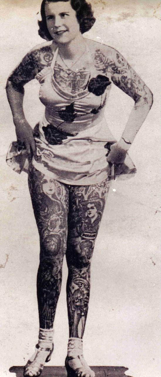 Tatuados do Passado em fotos antigas (9)
