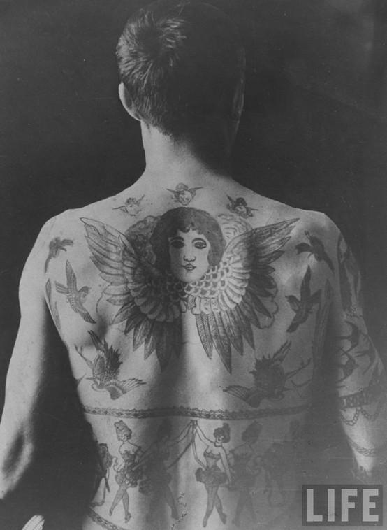 Tatuados do Passado em fotos antigas (8)
