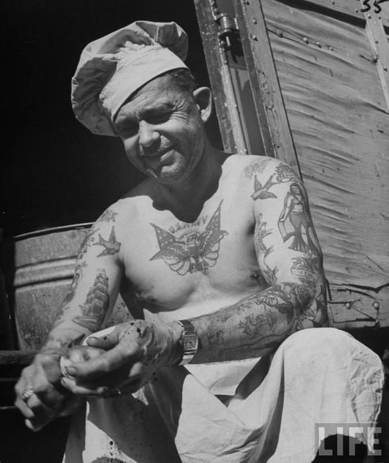 Tatuados do Passado em fotos antigas (6)