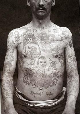 Tatuados do Passado em fotos antigas (5)