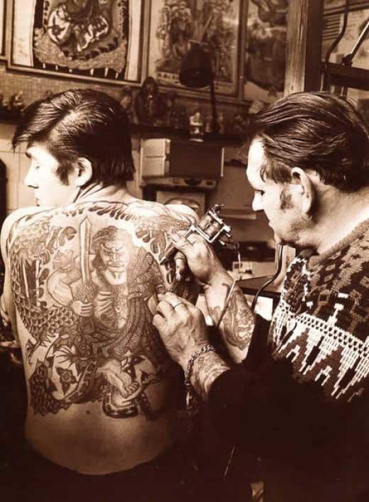 Tatuados do Passado em fotos antigas (3)