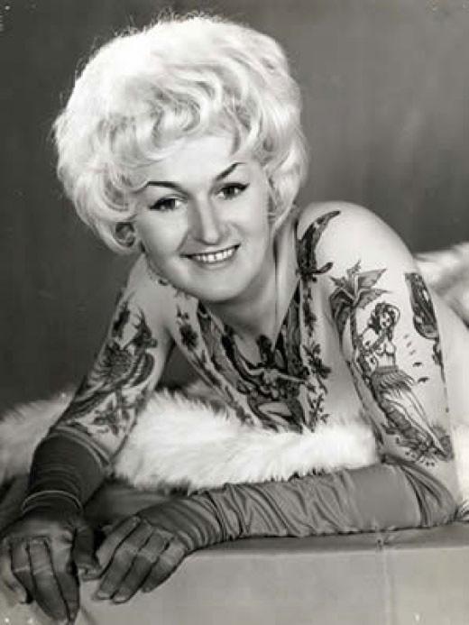 Tatuados do Passado em fotos antigas (1)