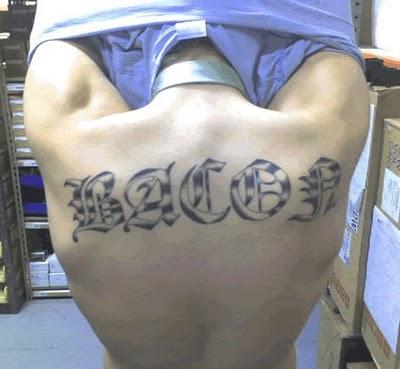 Tatuagens para quem adora comer bacon (26)