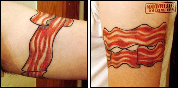Tatuagens para quem adora comer bacon (14)