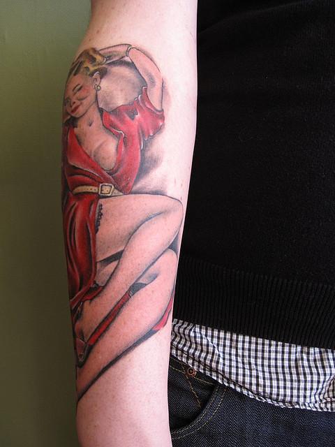 Tatuagens de pin-ups (36)
