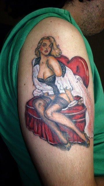 Tatuagens de pin-ups (6)