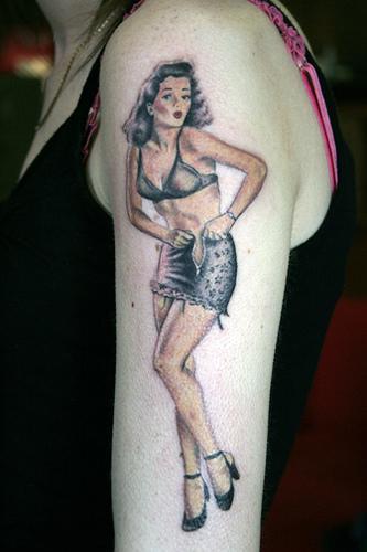 Tatuagens de pin-ups (1)